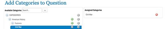 Categories Screenshot